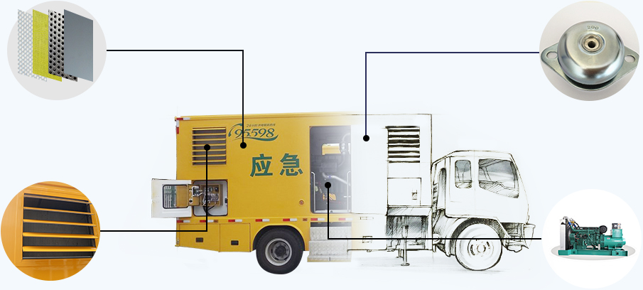 东风天龙前四后八100-1000KW应急电源车优势介绍